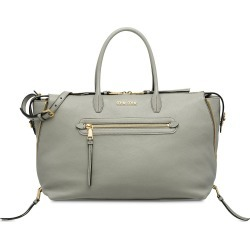 5bb1e9ce9061 Miu Miu shopper tote bag - Grey found on MODAPINS from FarFetch.com - US