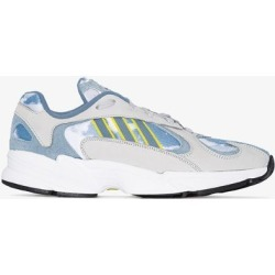 adidas grey and blue Sky Print Yung-1 Low Top Sneakers found on Bargain Bro UK from Browns Fashion