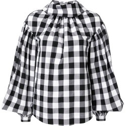 Acler Kieves puffball hem blouse - Black found on MODAPINS from FarFetch.com - US for USD $305.00