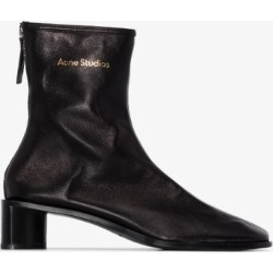Acne Studios Womens Black Bertine 45 Leather Boots found on MODAPINS from Browns Fashion for USD $600.08