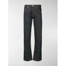 Loewe embroidered five pocket jeans found on Bargain Bro India from stefania mode for $399.65