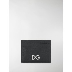 Dolce & Gabbana Black Diamante Logo Leather Card Holder found on Bargain Bro UK from MODES GLOBAL