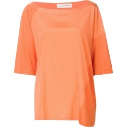 A.F.Vandevorst oversized colour block T-shirt - Yellow found on MODAPINS from FarFetch.com- UK for USD $258.07