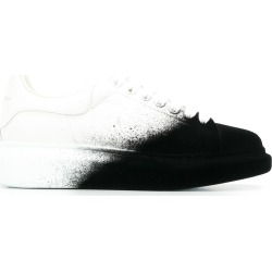Alexander McQueen spray effect lace-up sneakers - White found on Bargain Bro UK from FarFetch.com- UK