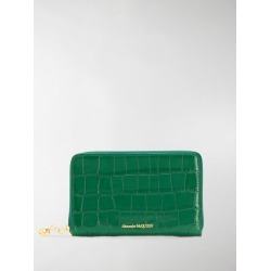 Alexander McQueen crocodile-effect wallet found on MODAPINS from MODES GLOBAL for USD $423.52