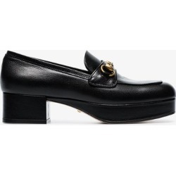 Gucci black Houdan 60 buckle leather loafers found on Bargain Bro UK from Browns Fashion