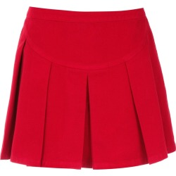 Andrea Bogosian pleated mini skirt - Red found on MODAPINS from FarFetch.com- UK for USD $469.68
