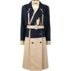 Maison Margiela double breasted trench coat - Blue