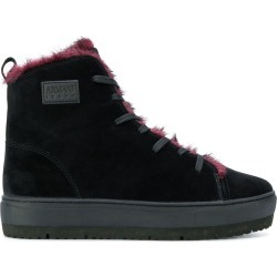 Armani Jeans hi-top lace up sneakers - Black found on MODAPINS from FarFetch.com - US for USD $164.00