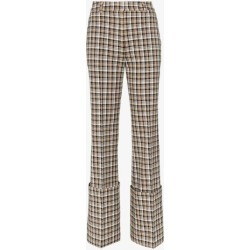 Beaufille Moretti turned up cuff straight leg trousers found on MODAPINS from Browns Fashion for USD $677.42
