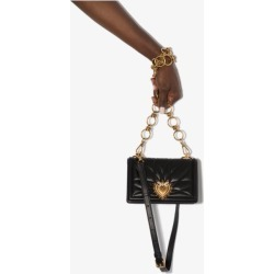 Dolce & Gabbana Womens Black Mini Devotion Crossbody Bag found on Bargain Bro UK from Browns Fashion