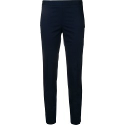 Alberto Biani mid-rise cropped trousers - Blue found on MODAPINS from FARFETCH.COM Australia for USD $250.94