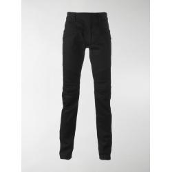 Balmain raw denim Biker jeans found on Bargain Bro India from stefania mode for $717.31