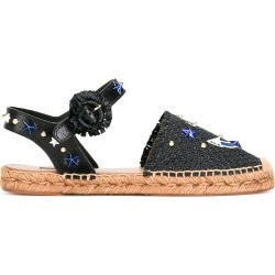Dolce & Gabbana anchor espadrille sandals - Black
