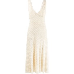 Alexa Chung floral embroidered dress - Neutrals found on MODAPINS from FarFetch.com - US for USD $413.00