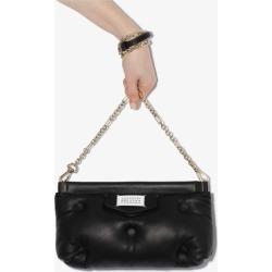 Maison Margiela Womens Black Leather Padded Shoulder Bag found on Bargain Bro UK from Browns Fashion