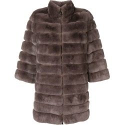 Arma mid-length fur coat - Grey found on MODAPINS from FARFETCH.COM Australia for USD $1457.09