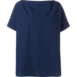Apuntob boxy fit blouse - Blue found on MODAPINS from FarFetch.com- UK for USD $235.54
