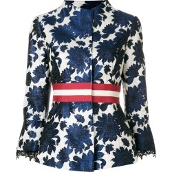 Bazar Deluxe jacquard blazer - Blue found on MODAPINS from FARFETCH.COM Australia for USD $399.20