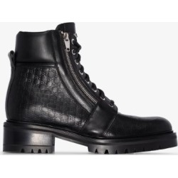 Balmain Womens Black Ranger Leather Combat Boots found on Bargain Bro UK from Browns Fashion
