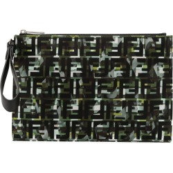 Fendi camouflage FF print pouch found on Bargain Bro UK from Eraldo