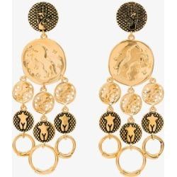 Chloé Womens Gold Tone Emoji Disc Drop Earrings found on Bargain Bro UK from Browns Fashion