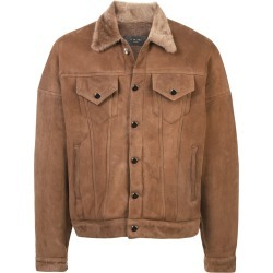 Amiri leather jacket - Brown found on MODAPINS from FarFetch.com- UK for USD $4617.64