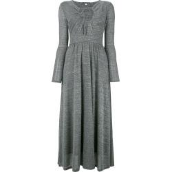 Alexa Chung key-hole flared dress - Grey found on MODAPINS from FarFetch.com- UK for USD $352.68