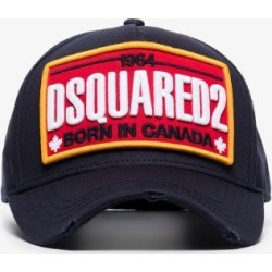 Dsquared2 Mens Blue Navy Logo Embroidered Baseball Cap found on Bargain Bro UK from Browns Fashion
