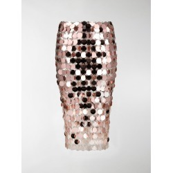Paco Rabanne paillette-embellished fitted skirt found on MODAPINS from stefania mode for USD $2700.00