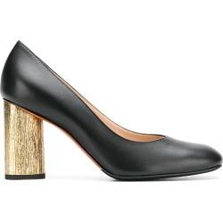 Baldinini contrast heel pumps - Black found on MODAPINS from FARFETCH.COM Australia for USD $449.88