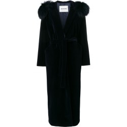 Ava Adore hooded long coat - Blue found on MODAPINS from FARFETCH.COM Australia for USD $1764.12