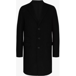 Neil Barrett Mens Black Single-breasted Coat found on Bargain Bro UK from Browns Fashion
