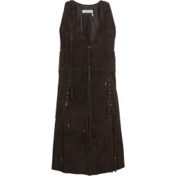 Chloé longline gilet - Brown found on Bargain Bro India from FarFetch.com - US for $1289.00