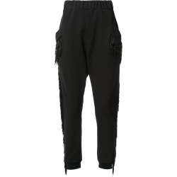 Baja East fringed track pants - Black found on MODAPINS from FarFetch.com - US for USD $595.00
