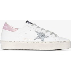 Golden Goose White Superstar Low-Top Leather Sneakers found on Bargain Bro UK from Browns Fashion