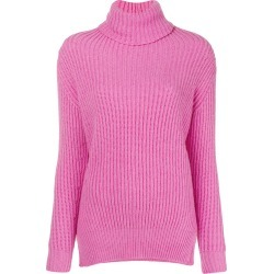 Avant Toi ribbed roll neck sweater - Pink found on MODAPINS from FARFETCH.COM Australia for USD $308.79