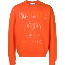 Moschino classic logo jersey sweater - Orange found on MODAPINS from FarFetch.com- UK for USD $242.71