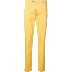 Berwich straight leg trousers - Yellow found on MODAPINS from FarFetch.com- UK for USD $124.84