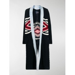Greg Lauren X Paul & Shark cable knit combined coat found on MODAPINS from stefania mode for USD $647.00