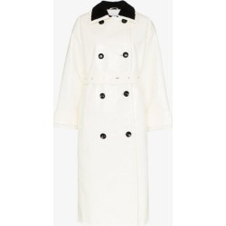 STAND STUDIO Marissa faux fur double-breasted coat