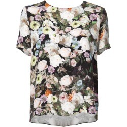 Adam Lippes floral short-sleeve top - Multicolour found on MODAPINS from FARFETCH.COM Australia for USD $801.41