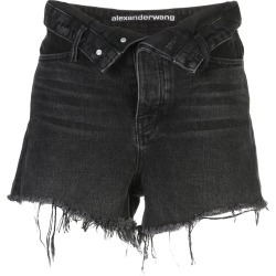 Alexander Wang bite flip shorts - Black found on MODAPINS from FARFETCH.COM Australia for USD $313.32