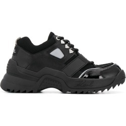 Karl Lagerfeld chunky lace up sneakers - Black found on Bargain Bro UK from FarFetch.com- UK