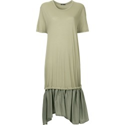 Bassike loose T-shirt dress - Green found on MODAPINS from FarFetch.com - US for USD $295.00