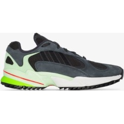 Adidas Mens Black And Green Yung 1 Low Top Sneakers found on Bargain Bro UK from Browns Fashion