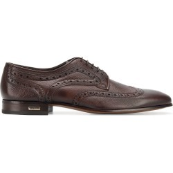 Baldinini embroidered derby shoes - Brown found on MODAPINS from FARFETCH.COM Australia for USD $297.27