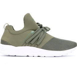 Arkk neoprene and mesh sneakers - Green found on MODAPINS from FARFETCH.COM Australia for USD $117.07