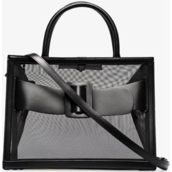 Boyy Womens Black Bobby 38 Mesh Leather Tote Bag found on MODAPINS from Browns Fashion for USD $851.68