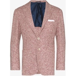 Kiton Mens Red Kiton Mens Red Cash 2 Btn Blzr Jkt Multi found on MODAPINS from Browns Fashion for USD $8505.53